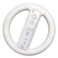 volant de course pour Nintendo Wii (WII)