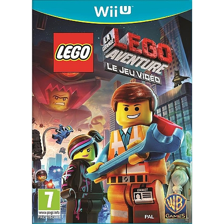 lego la grande aventure le jeu vid o wii u action espace culturel e leclerc. Black Bedroom Furniture Sets. Home Design Ideas