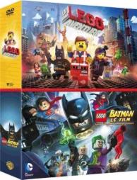 coffret Lego : la grande aventure Lego ; Lego Batman, e film