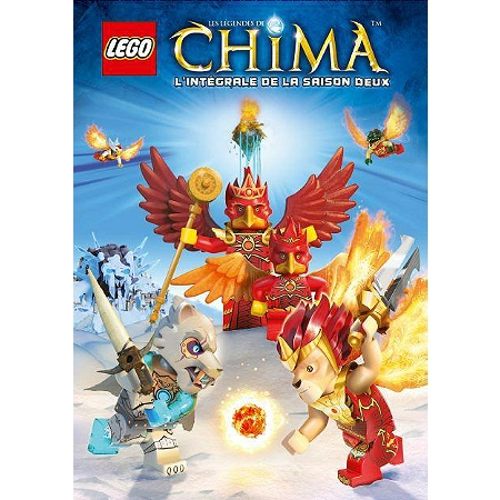 Coffret lego les l gendes de chima saison 2 dvd dvd - Legende de chima saison 2 ...