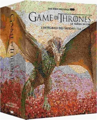 coffret game of thrones, saisons 1 à 6