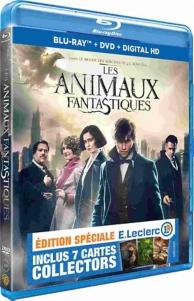 les animaux fantastiques Leclerc + cartes collector - édition speciale E.Leclerc