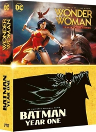 coffret DC origin story 2 films : Batman year one ; Wonder Woman
