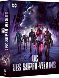 coffret DC villains 3 films : the killing joke ; assaut sur Arkham ; Batman et Harley Quinn