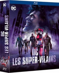 coffret DC villains 3 films : the killing joke ; assaut sur Arkham ; Batman et Harley