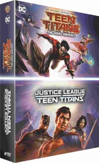 coffret Teen Titans 2 films : Justice League vs Teen Titans ; the Judas contract