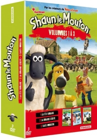 coffret Shaun le mouton, vol. 1 à 3