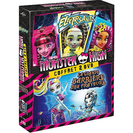 coffret monster high lectrisant la grande barri re. Black Bedroom Furniture Sets. Home Design Ideas