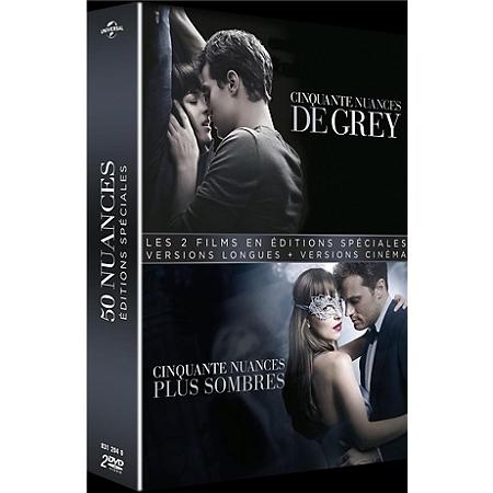 Coffret 50 nuances de grey 2 films 50 nuances de grey for Chambre 50 nuances de grey