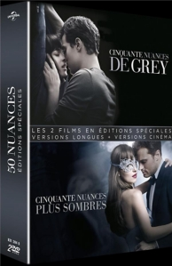 coffret 50 nuances de Grey 2 films