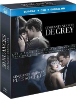 coffret 50 nuances de Grey 2 films -