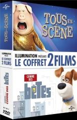 coffret animation 2 films : tous en scène: comme des bêtes -