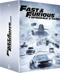 coffret fast and furious 8 films - F. garyGray, JustinLin, JamesWan