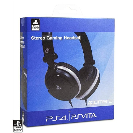 micro casque dual format stereo pour playstation 4 ps vita ps4 casques audio espace. Black Bedroom Furniture Sets. Home Design Ideas