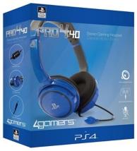 casque stéréo gaming headset PRO4-40 - bleu (PS4)