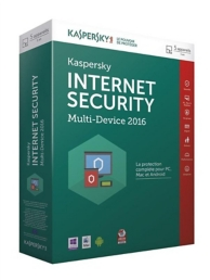Kaspersky Internet Security 2016 (PC) (5 licenses - 1 an )