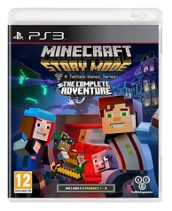 Minecraft story mode - the complete adventure (PS3)