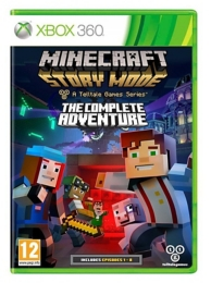 Minecraft story mode - the complete adventure (XBOX360)