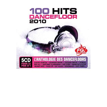 100 hits dancefloor 2010 cd compilation espace for 100 hits dance floor