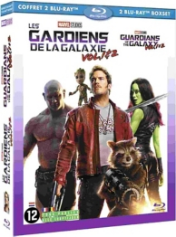 coffret les gardiens de la galaxie 2 films : vol. 1 ; vol. 2