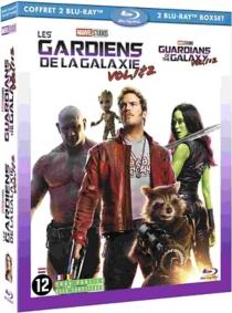 coffret les gardiens de la galaxie 2 films : vol. 1 ; vol. 2 - JamesGunn
