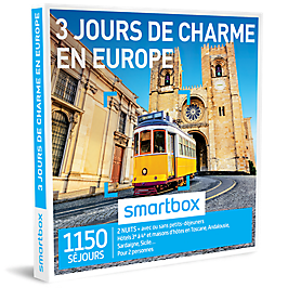 Smartbox - 3 jours de charme en Europe