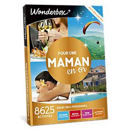 Wonderbox - Pour une maman en or
