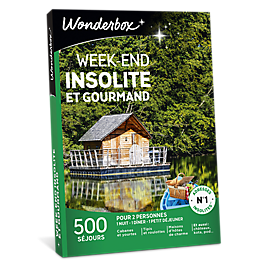 Wonderbox - Week-end insolite et gourmand