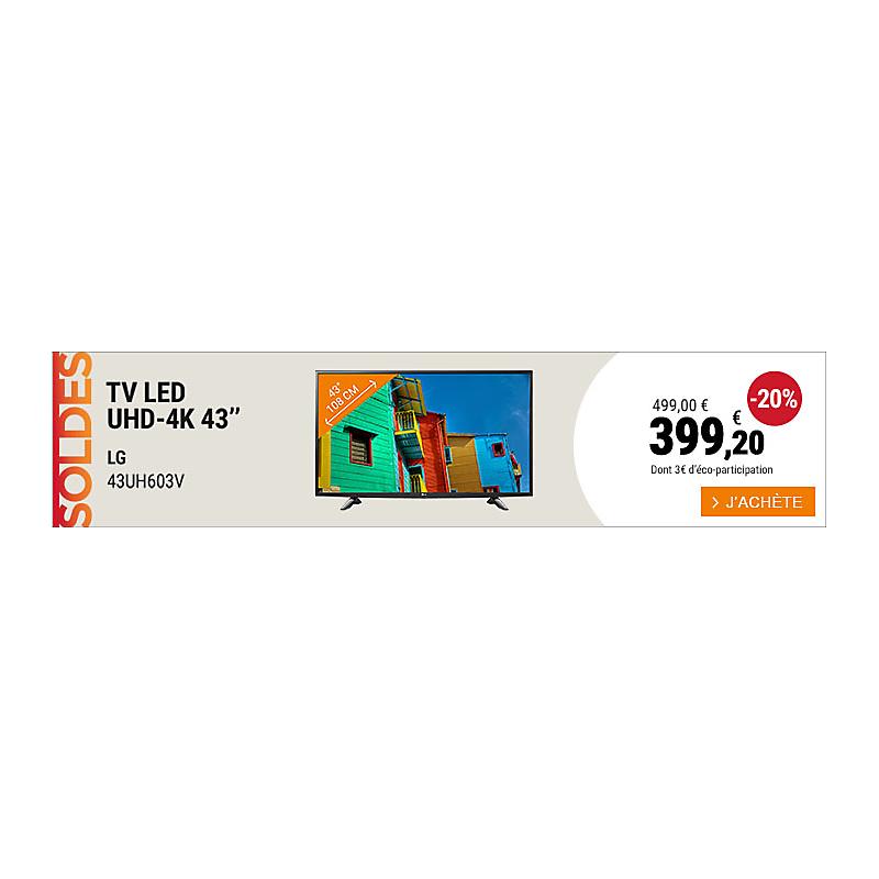 TV LG 43UH603V