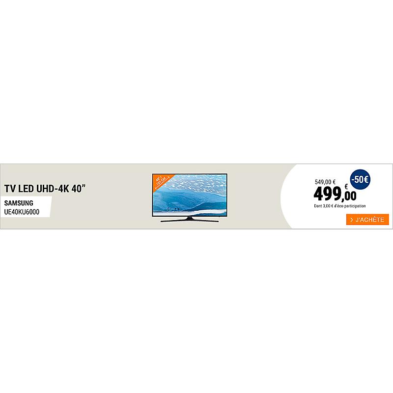 TV Samsung UE40KU6000