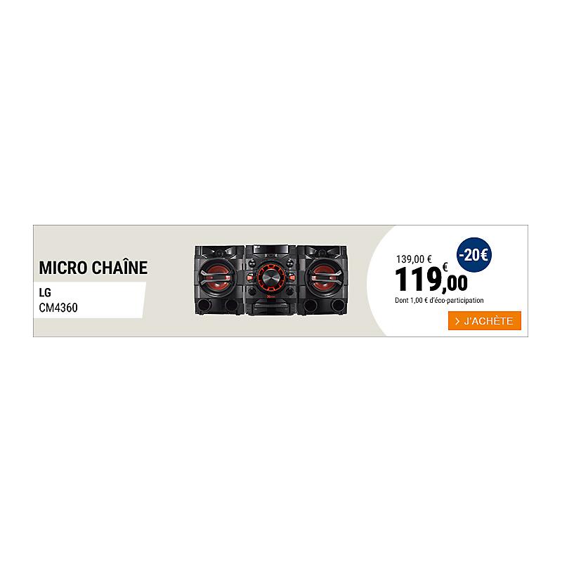 Micro chaine LG - DM8