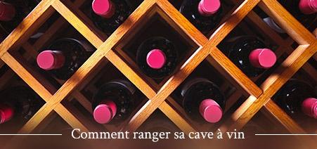 Rangement de cave à vin