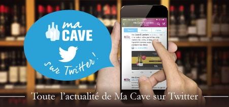 Retrouvé toute l'actualité du site Ma Cave sur Twitter !