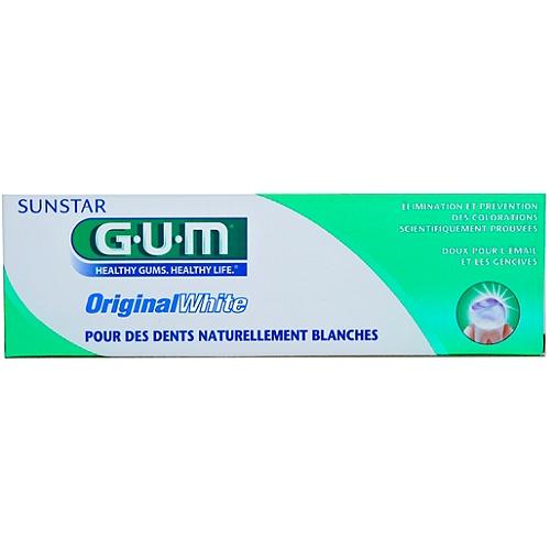 GUM ORIGINAL WHITE Dentifrice 75ml