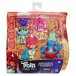Les Trolls 2 Tournée Mondiale De Dreamworks - Pack De 5 Poupées Tournée Dans Les Plaines Solitaires - Trolls - E84065L00
