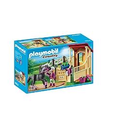 PLAYMOBIL - Box avec pur-sang  Arabe  - 6934