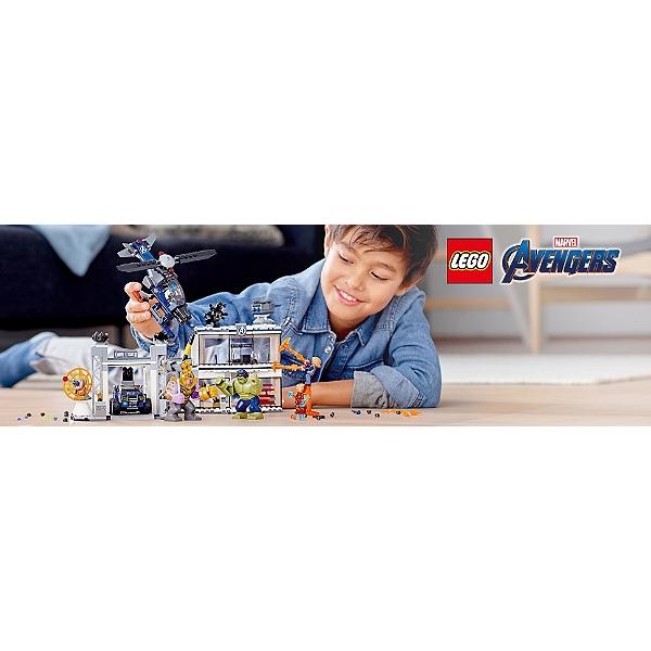 Lego® L'attaque 76131 Heroestm Du Des Avengers Super Marvel Qg CxstrhQd