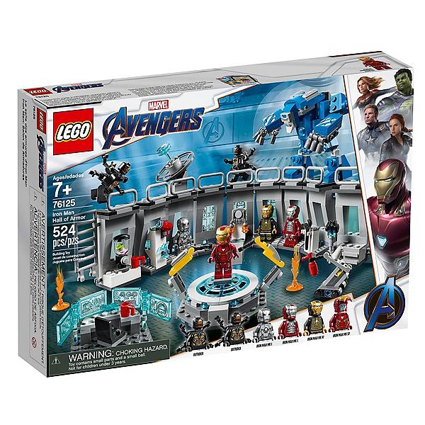 Man Super Marvel La Des Lego® Heroestm Armures D'iron 76125 Salle UqMVSpz