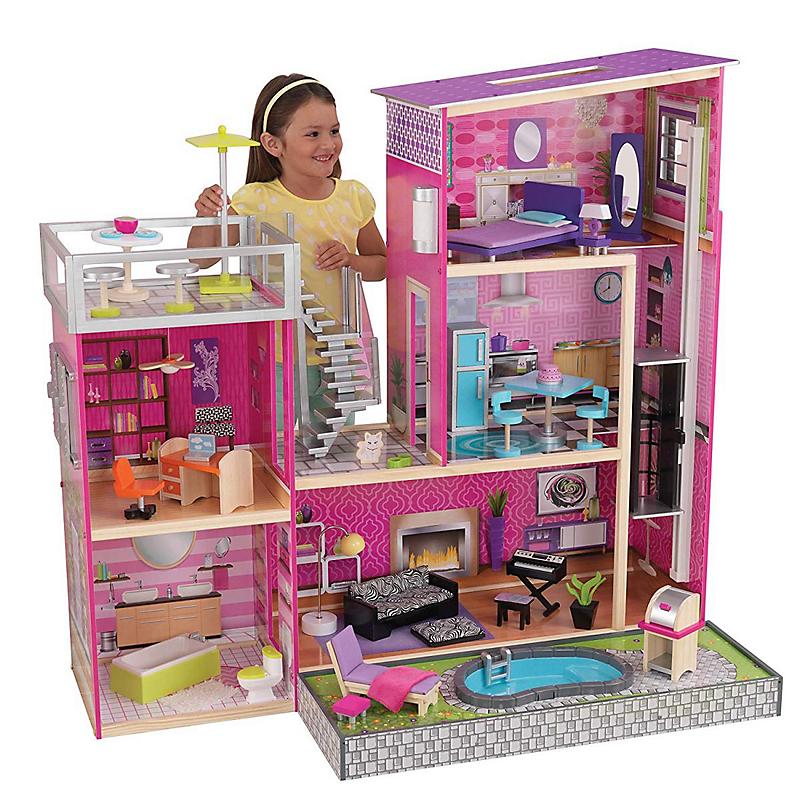 Maison poupées en bois Uptown - KIDKRAFT