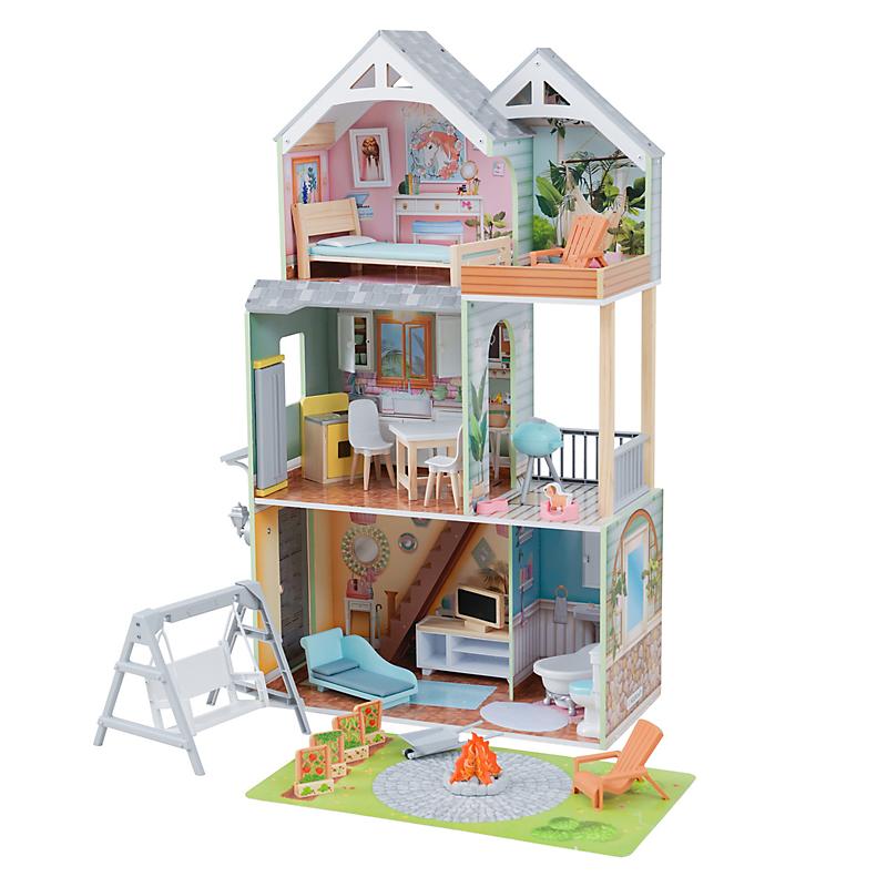 Maison de poupées en bois Hallie - KIDKRAFT