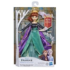 Disney La Reine Des Neiges 2 - Poupee Princesse Disney Anna Chantante (Français) En Tenue De Reine - 27 Cm - Disney Reine Des Neiges - E8881XF00