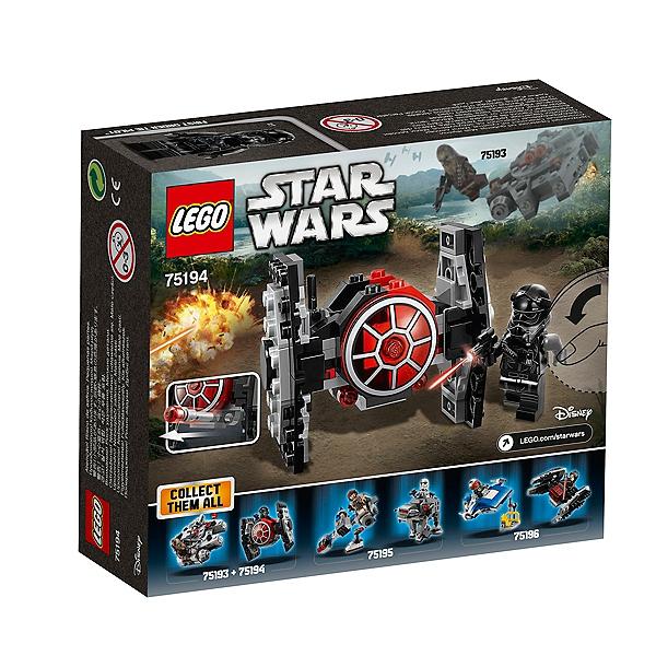 Star Chasseur Microfighter Du ordretm Lego® Premier Tie 75194 Warstm UMGpqSVz