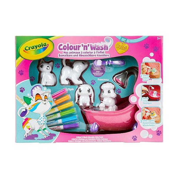 Colornwash Pets Mes Animaux A Colorier Coffret Jouets Espace
