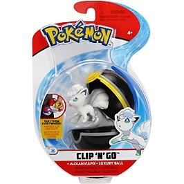 Poké Ball et sa figurine 5 cm - Pokémon (modèle aléatoire) - 80294