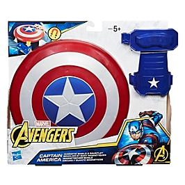 MARVEL CAPTAIN AMERICA MAGNETIC SHIELD & GAUNTLET - MARVEL CHARACTERS INC. - B9944EU60