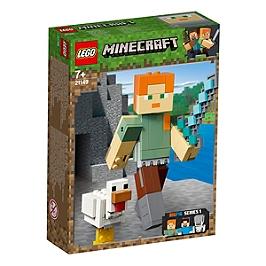 LEGO® MinecraftTM - Bigfigurine Alex et son poulet - 21149 - 21149