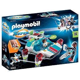 PLAYMOBIL - FulguriX avec Gene - Super 4 - 9002