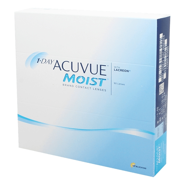 Lentilles 1 Day Acuvue MOIST 90 ?? 1 Day Acuvue Moist 90