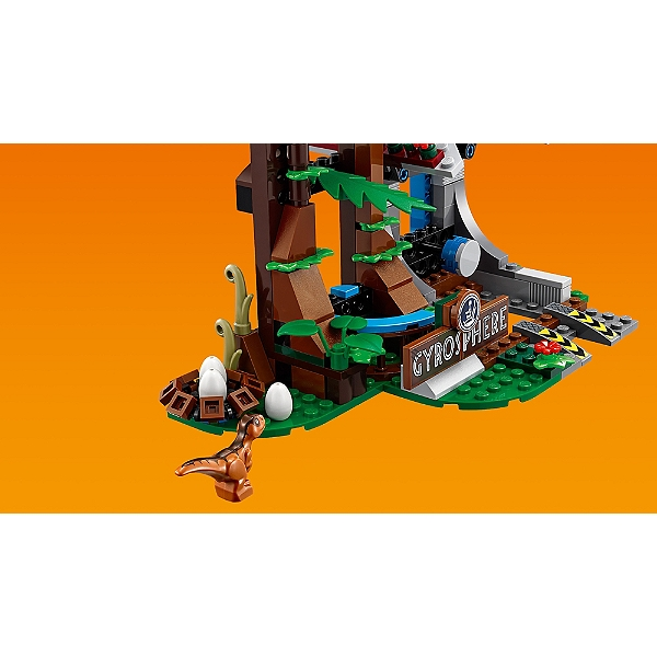 Carnotaurus Le La 75929 Worldtm Fuite Et Gyrosphère Jurassic Lego® En n0kOwP