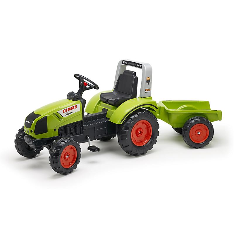 Tracteur à Pédales Class Avec Remorque Maison Et Loisirs E
